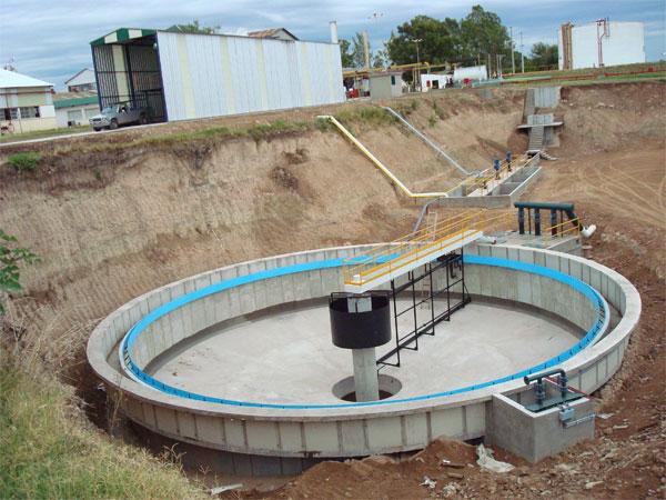 Puentes barredores para sedimentadores