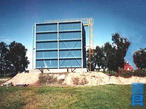 Biofiltro Refinerías de Maíz, Parque Industrial Pilar.