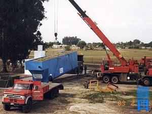 Planta de tratamiento de efluentes industriales. Purina, Santa-Fe.